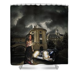 Lady Of The Night Shower Curtain