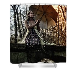 Lady Rain Shower Curtain