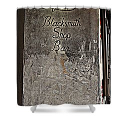 Lafitte's Blacksmith Shop Bar Shower Curtain