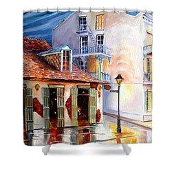 Lafitte's Guest House On Bourbon Shower Curtain by Diane Millsap