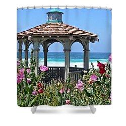 Laguna Gazebo Shower Curtain