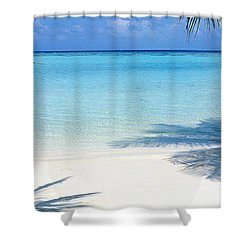 Laguna Maldives Shower Curtain