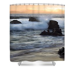 Laguna Sunset Shower Curtain