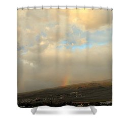 Shower Curtain featuring the photograph Lahaina Rainbow by Fred Wilson