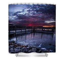 Lake Alvin Shower Curtain