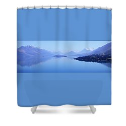 Lake Glenorchy New Zealand Shower Curtain by Ann Lauwers