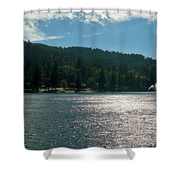 Lake Gregory Shower Curtain
