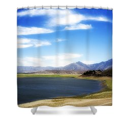 Lake Isabella Shower Curtain