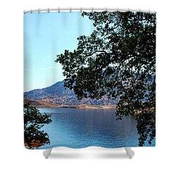 Lake Isabella Shower Curtain by Matt Harang