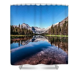 Lake Josephine Shower Curtain