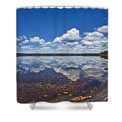 Lake Lewis Reflections Shower Curtain
