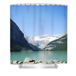 Lake Louise Alberta Canada Shower Curtain
