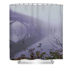 Lake Natoma Crossing Shower Curtain