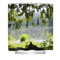 Lake Of Dreams Shower Curtain