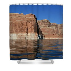 Lake Powell Cliffs Shower Curtain