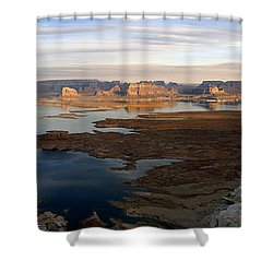 Lake Powell From Alstrum Pt Pan 2 Shower Curtain