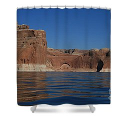 Lake Powell Landscape Shower Curtain