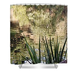 Shower Curtain featuring the photograph Lake Reflections by Kate Brown