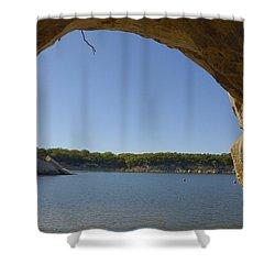 Lake Texoma Eisenhower State Park  Texas Shower Curtain