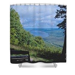 Lake Vista Shower Curtain