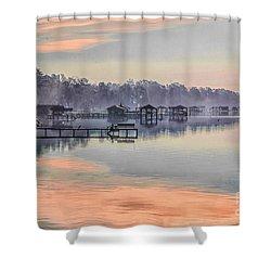 Lake Waccamaw Morning Shower Curtain