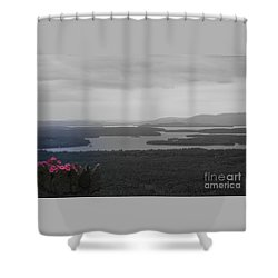 Lake Winnipesaukee      Sold Shower Curtain