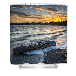 Lake Yankton Minnesota Shower Curtain