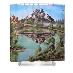 Lakehouse Shower Curtain