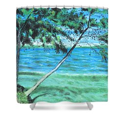 Lakeland 3 Shower Curtain
