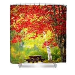 Lakeside Haven Shower Curtain