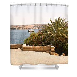 Lakeview 2 Shower Curtain by James Gay