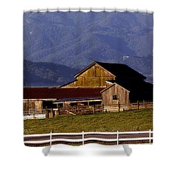 Lakeville Barn Shower Curtain