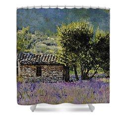 Lala Vanda Shower Curtain by Guido Borelli