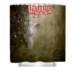 Lamb Of God Book Cover Shower Curtain by Loriental Photography