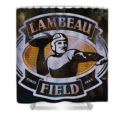 Lambeau Field Shower Curtain