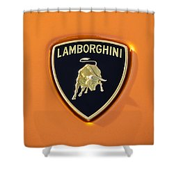 Supercar Badges Shower Curtains Fine Art America