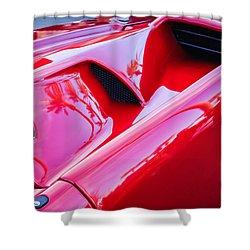 Lamborghini Side Emblem -0116c Shower Curtain by Jill Reger