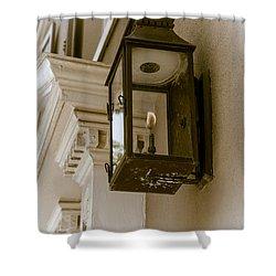 Shower Curtain featuring the photograph Lamp Unto My Feet by Sennie Pierson