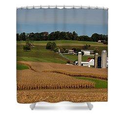 Lancaster County Farm Shower Curtain