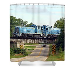 Lancaster Chester Railway Shower Curtain