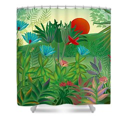 Land Of Flowers - Limited Edition 2 Of 15 Shower Curtain
