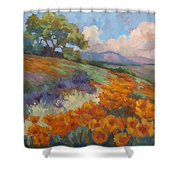 Land Of Sunshine Shower Curtain