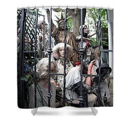 Shower Curtain featuring the photograph Land Of The Free  #2  by Susan Carella