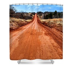 Land Run 100 Shower Curtain