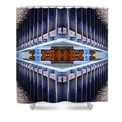 Shower Curtain featuring the photograph Landing Bay by WB Johnston