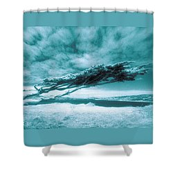 Lands End Shower Curtain by Daniel Furon