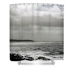 Lands End Shower Curtain by Linsey Williams