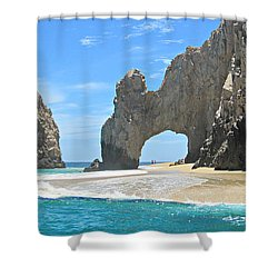 Shower Curtain featuring the photograph Lands End  by Marilyn Wilson