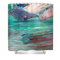 Landscape Shower Curtain by Fabrizio Cassetta
