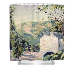 Landscape In Provence Shower Curtain by French School